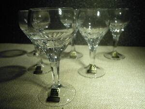 Eisch Ilona Weinglas 15 cm Kristall Mundgeblasen Handgeschliffen