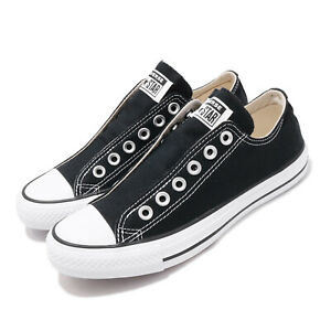 Converse-Chuck-Taylor-All-Star-Slip-On-OX-Black-Men-Women-Unisex-Shoes-164300C