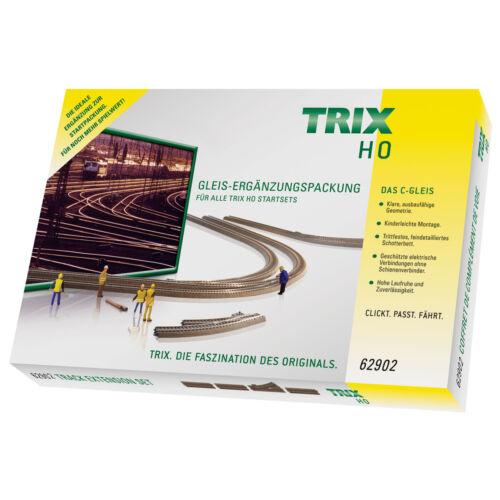 Trix 62902 H0 C-Gleis Ergänzungspackung C2 NEU /& OVP +