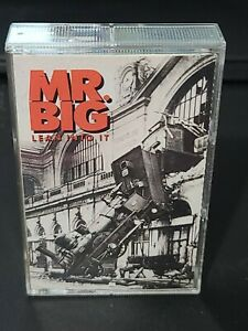 MR. BIG Lean Into It CASSETTE TAPE 1991 Atlantic TO BE WITH YOU Hard Rock d21