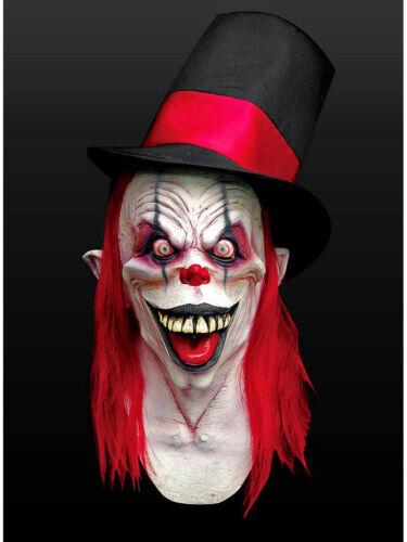 Partyclown Maske aus Latex Karneval Grusel Clown Horror