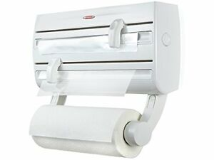 Cling Film and Kitchen Roll Holder Dispenser Leifheit Parat Wall-Mounted Foil