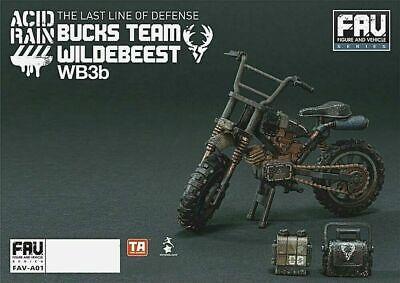 NEW Acid Rain World Toys Alliance FAV-A01 Bucks Team Wildebeest WB3b