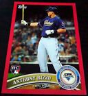 ANTHONY RIZZO 2011 Topps RED Update RARE SP Rookie Card RC HOT Chicago Cubs