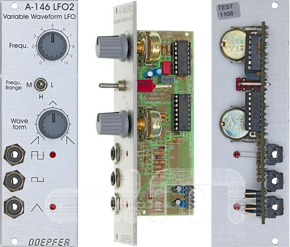Doepfer A-146 Lfo 2  Eurorack Modul  Neu Detroit Modular]