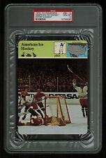 PSA 10 AMERICAN ICE HOCKEY on 1979 Story of America Card #68-10 Sportscaster
