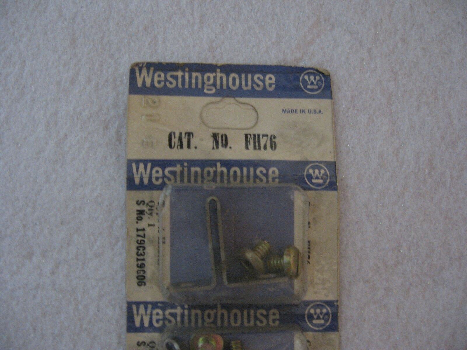 NIB Westinghouse FH76 Type A Heater ...each