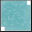 Ocean flourish x 2 sheets BoBunny 12x12 Scrapbooking paper Double Dot