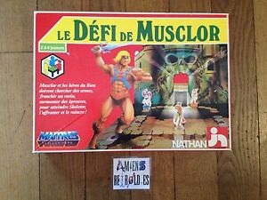 Le Défi De Musclor / Maitres L'univers Masters Of The Universe Nathan 1984