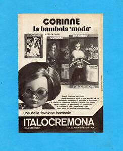 TOP974-PUBBLICITA-039-ADVERTISING-PAGE-1974-ITALOCREMONA-BAMBOLA-CORINNE