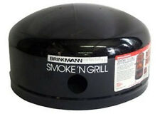 Brinkmann Charcoal Smoker Replacement Black Dome Top Lid 450-7063-7