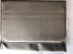 toyota owners manual cover case oem brand new ebay rh ebay com 2013 Toyota Owners Manual 2013 Toyota Owners Manual