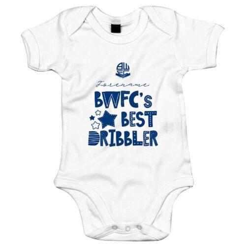 BEST DRIBBLER Personalised Bodysuit Bolton Wanderers F.C