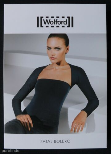 50739 Shrug In Top New 4725 Bolero Small Caper Box Wolford Fatal wHq6CEF