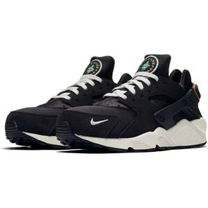 b477630d6b6c NIKE AIR HUARACHE RUN PRM 704830 015 OIL GREY SAIL WHITE RAINFOREST ...
