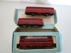 Marklin-3016-HO-Scale-Diesel-Railbus-Engine-Boxed-W-Extra-Engines