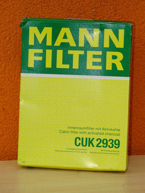 MANN Innenraum Filter CUK 2939 VW und Audi