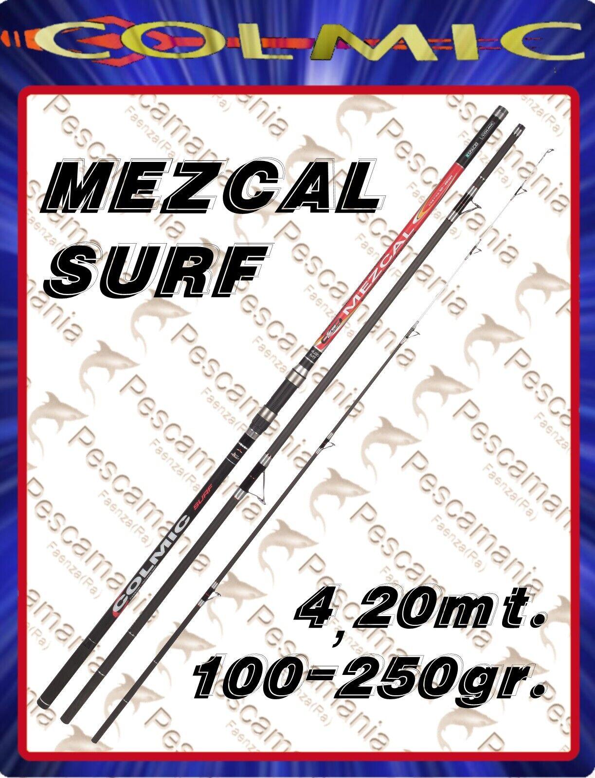 Canna colmic MEZCAL SURF casting mt.4,20 100250 gr. ripartita 3 sezioni