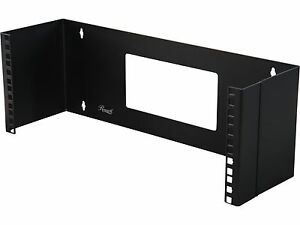 Rosewill-4U-19-inch-Wall-Mount-Bracket-for-Patch-Panel-with-Hinge-RSA-4UBRA001