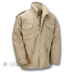 US-MILITARY-STYLE-M-65-COMBAT-FIELD-JACKET-ARMY-VIETNAM-M65-BEIGE