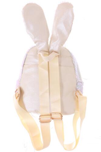 Brillo Pink Lolita Sequin Mochila Bunny Blanco orejas Turn 120 Lb 2 RwqFtYYC