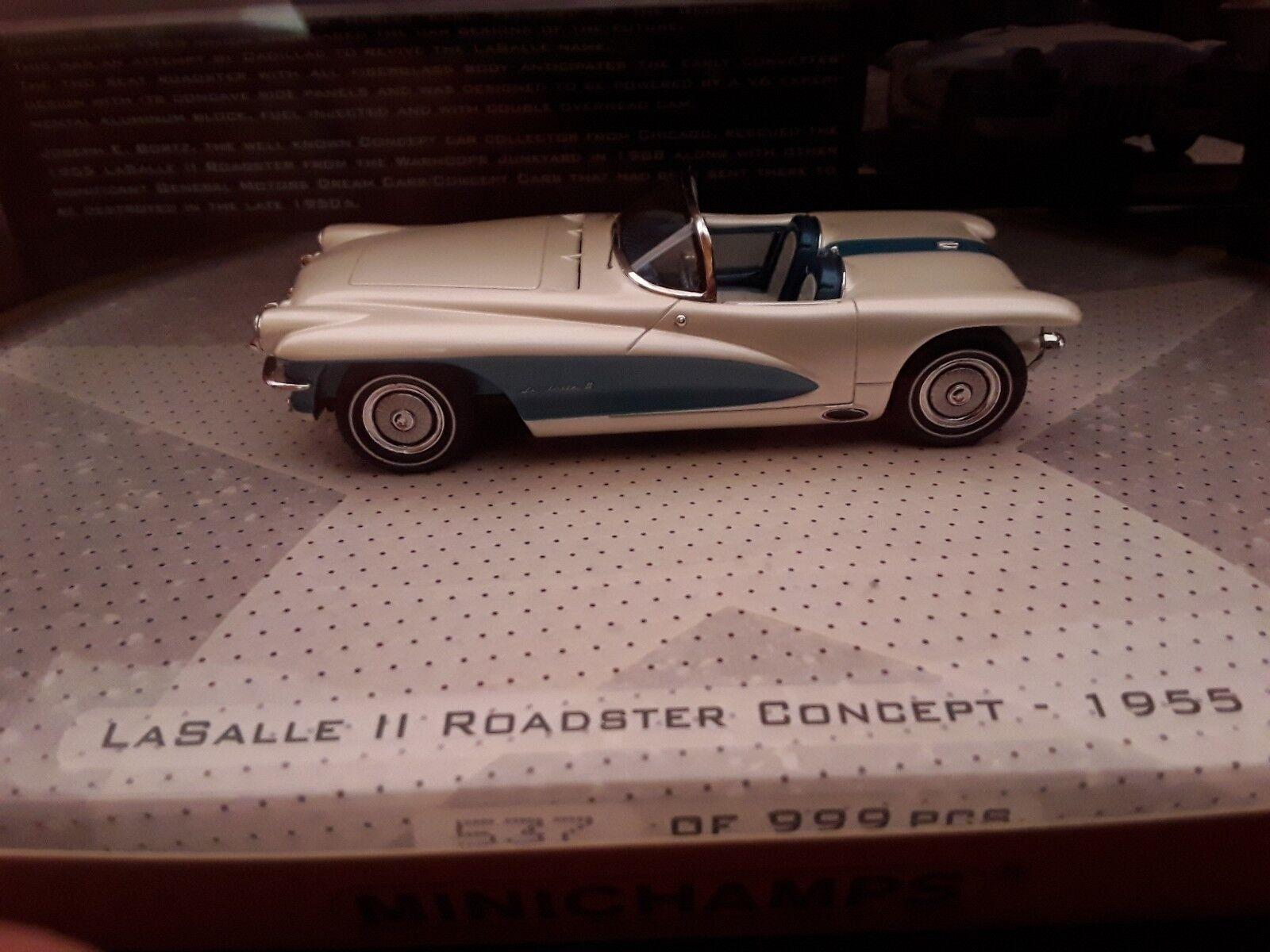 GM General Motors Salle II Roadster Concept 1955 1 43 Minichamps 437147030