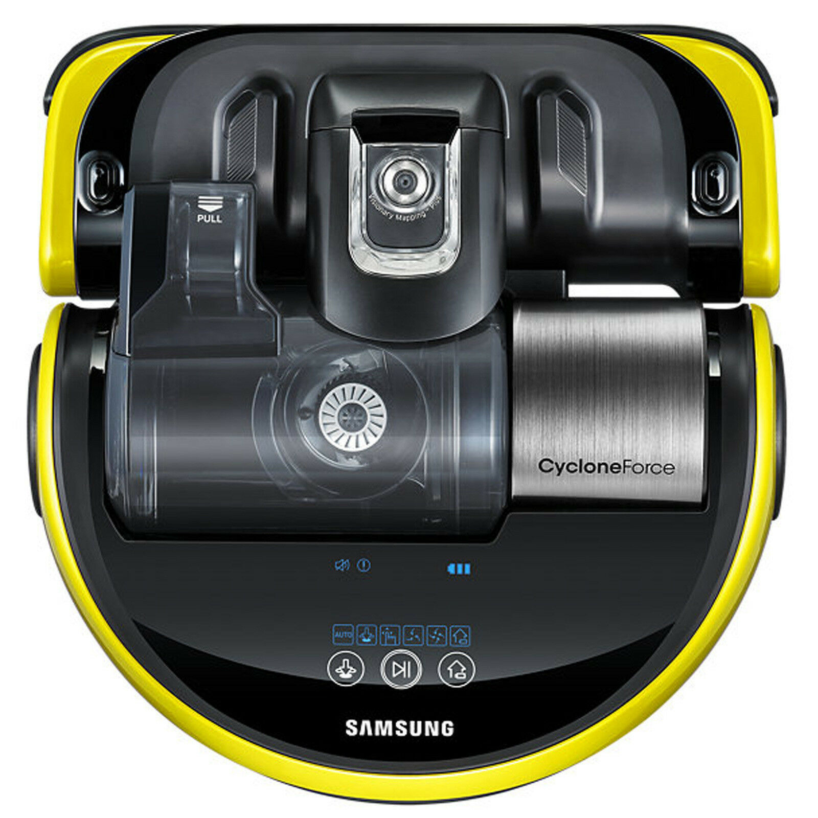 Samsung Powerbot VR20J9010UY Cyclone Force Robot Vacuum Cleaner Bagless  Yellow
