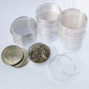 Capsules-plastique-pour-pieces-de-10-francs-Hercule