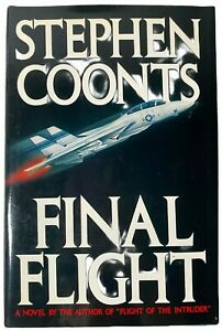 Vintage Book Final Flight Novel By Stephen Coonts Hardcover First Edition 1988