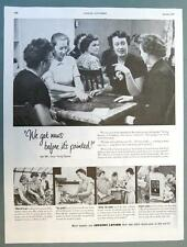 Original 1951 Jergens Endorsement Ad Features Evelyn Danser Cranbury New Jersey
