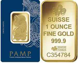 Image Is Loading Fifty 50 1 Oz Pamp Suisse Gold Bars