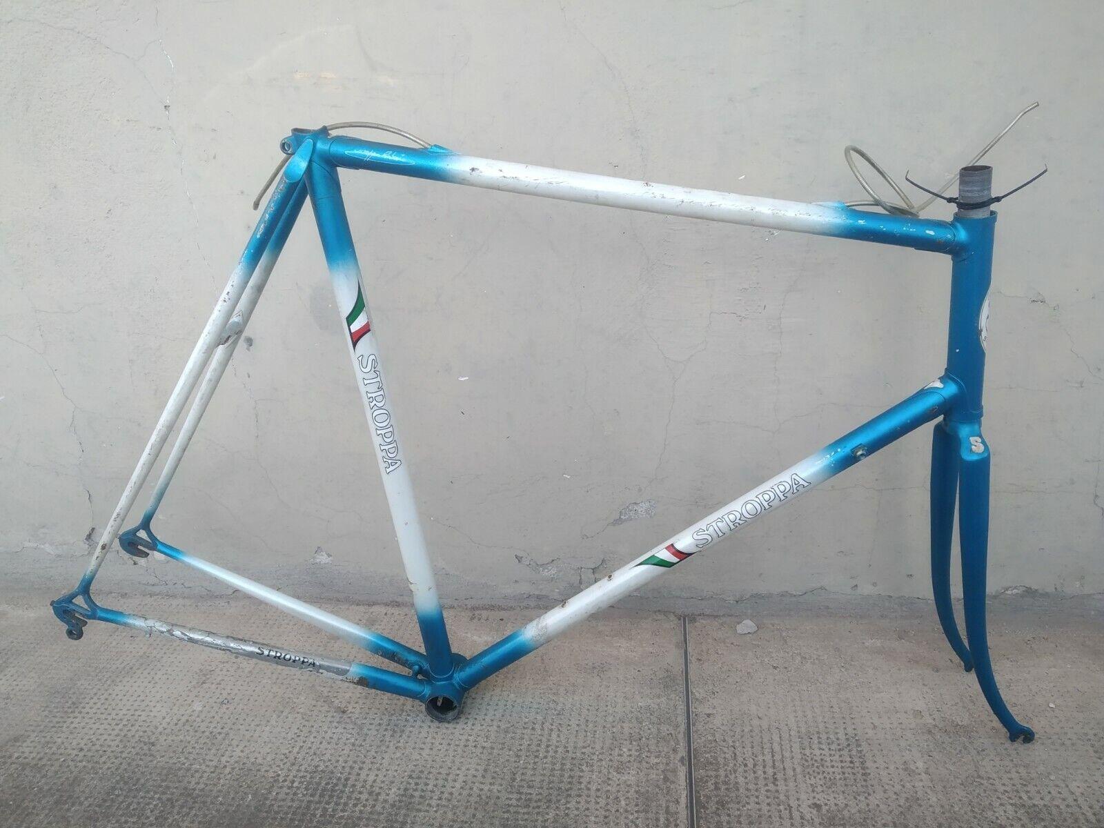 Vintage telaio frame corsa road Sannino  Stroppa 59 x 63 Gios Professional clone
