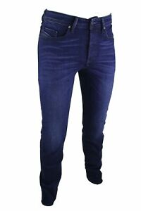 Diesel-Buster-WASH-084HJ-Stretch-Herren-Jeans-Regular-Slim-Tapered-Grose-wahlba