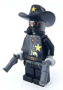 LEGO® The LEGO Movie™ 70800 SHERIFF NOT-A-ROBOT Minifigure with GUNS NEW