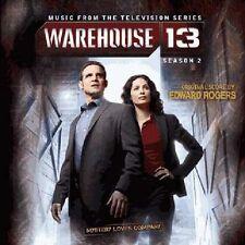 WAREHOUSE 13 SAISON 2 (BOF) - ROGERS EDWARD (CD)