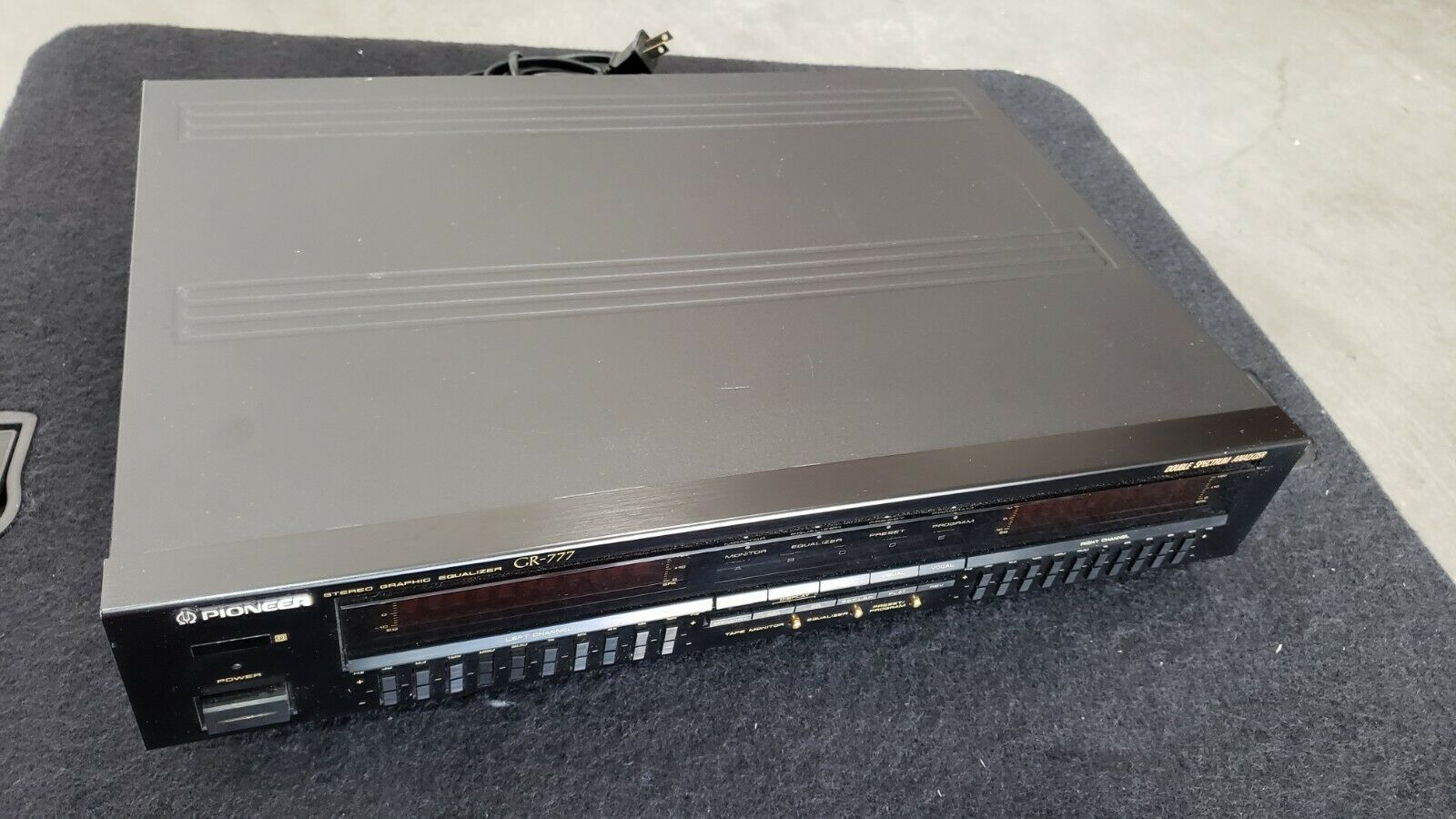 Pioneer Stereo graphic equalizer, GR-777. Buy it now for 280.00