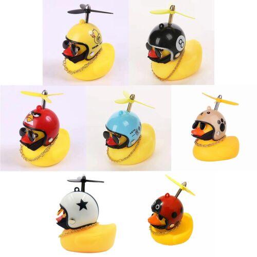 Cute Small Yellow Duck Horn Broken Wind Duck Rotating Duck Bell Hot Sale