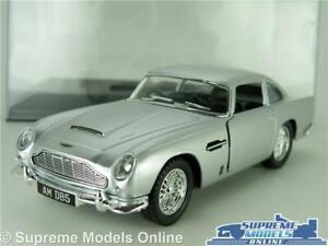 Aston Martin Db5 Model Car 1963 1 38 Scale Silver Display Case Kinsmart Bond K Ebay