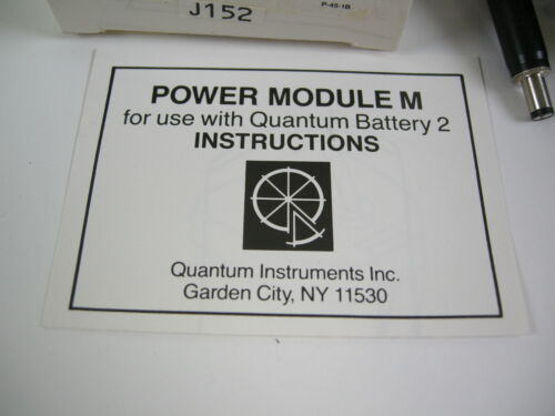 QUANTUM BATTERY 2 MODULE MM FOR METZ /& HASSELBLAD