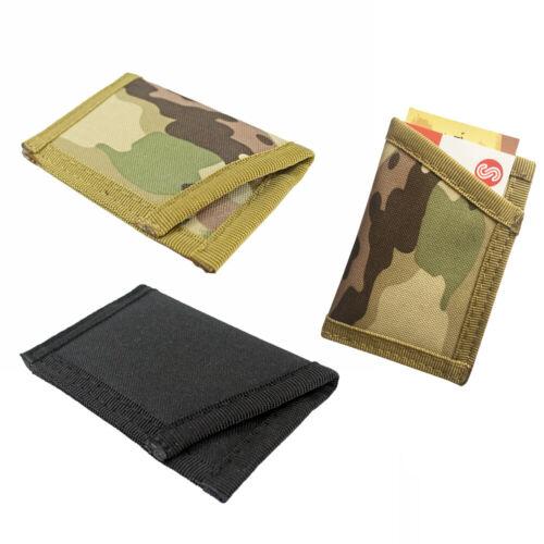 Outdoor Portable Card Storage Pouch Nylon Pocket Bag Belt Waist EDC Package Case