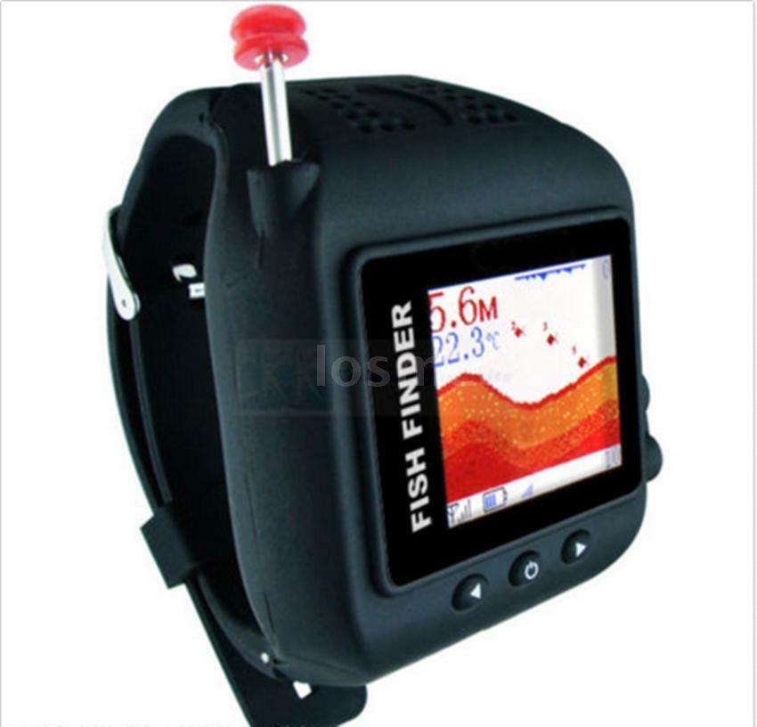 NEW  Smart Wireless Watch Fishfinder Fishing Inspection Detector Sonar 120M P6G9  large discount