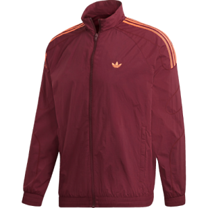 Details about adidas Originals Flamestrike Track Jacket New Men's Bordeaux Orange 2019 DU8132