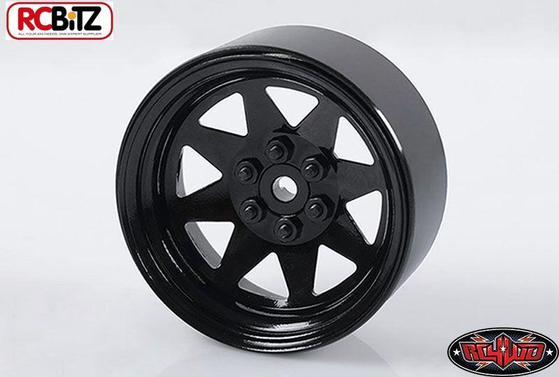 6 LUG Wagon WHEELS 2.2  Stamped in Acciaio Lega Nero Pin Metallo Wraith Z-W0190