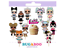 24PC-LOL-Surprise-Cupcake-Toppers-Birthday-Decoration-Surprise-Party-Supplies thumbnail 1