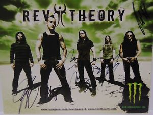 Rev Theory | Music artists, My music, Rock n roll |Rev Theory Band Logo