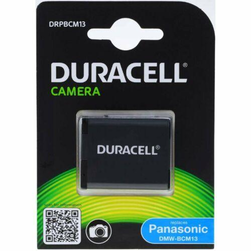 Duracell BATERIA para Panasonic tipo dmw-bcm13 3,7v 1020mah//3 8wh Li-ion negro
