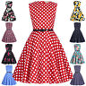 Girls Floral Dress 50s Vintage Style PINUP Swing Evening Kids Party DANCE Gown