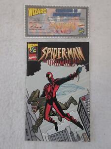 Marvel Comics SPIDER-MAN Wiazard #1/2 Unlimited