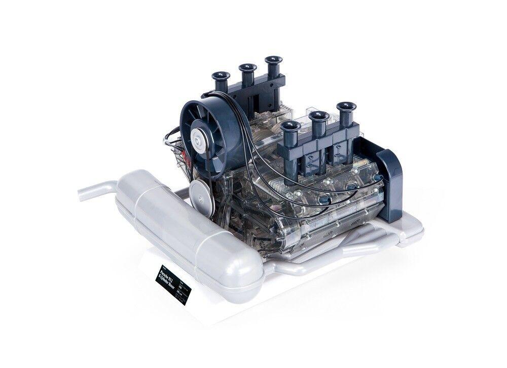 Porsche Flat Six Boxer Engine Model Kit 1 1 1 4 Scale See Through Model PE12US 8038e2