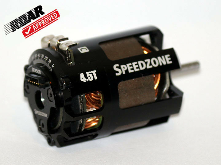 Speedzone 4.5T Modified Brushless Motor 4.5 BL Competition ROAR Approved NEW